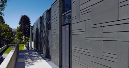 Fachadas arquitectónicas de zinc