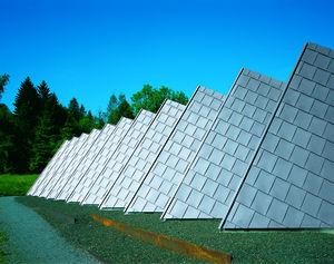 tejas planas fachada