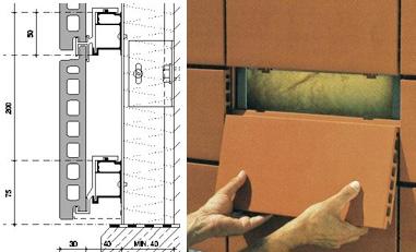 Montaje de fachada ventilada
