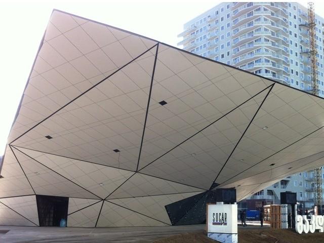 Fundermax- fachada laminada