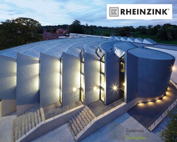 fachada ventilada de zinc