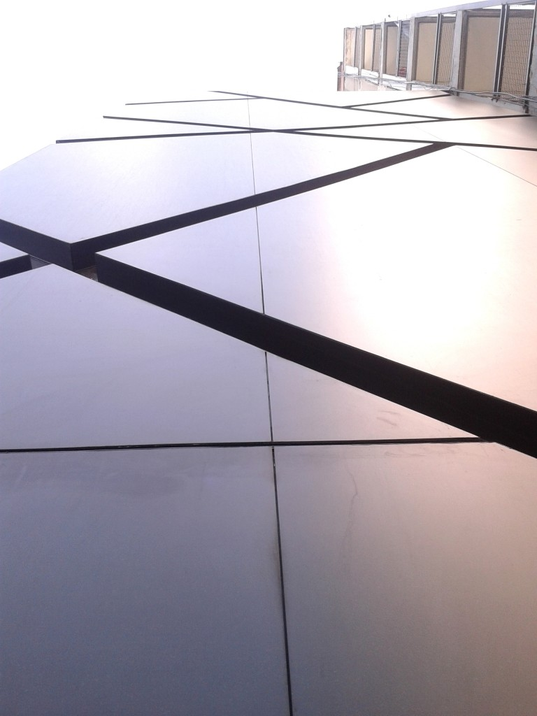 paneles para fachada 3d Fundermax