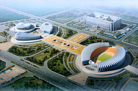 rheinzink JinanOlympicCentre 4