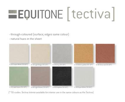 carta de colores Equitone tectiva