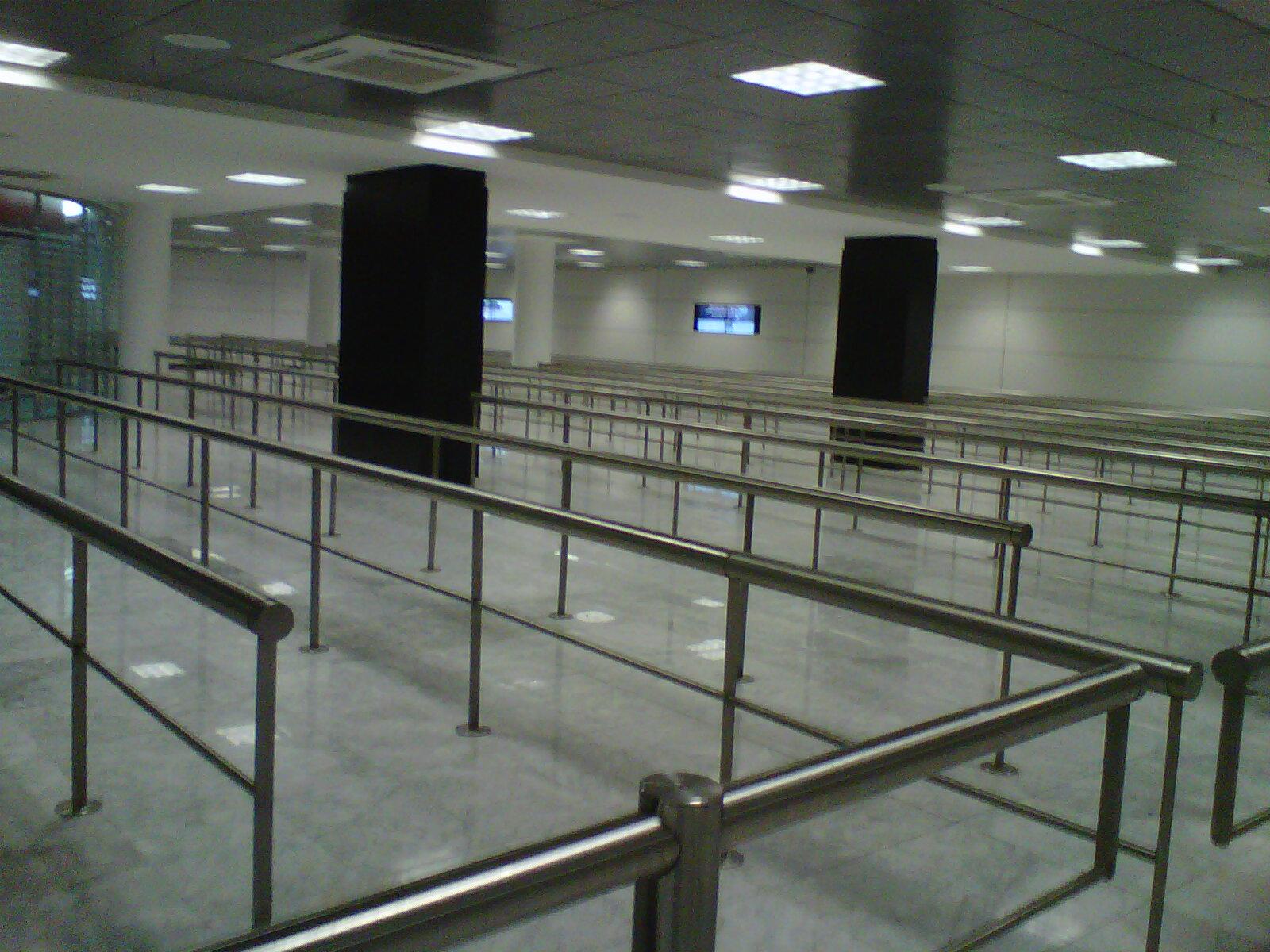 Aeropuerto Guadalajara revestimiento interior