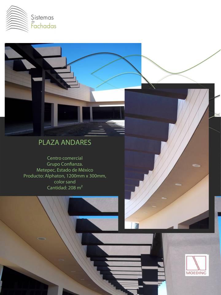Revestimiento plaza andares Metepec