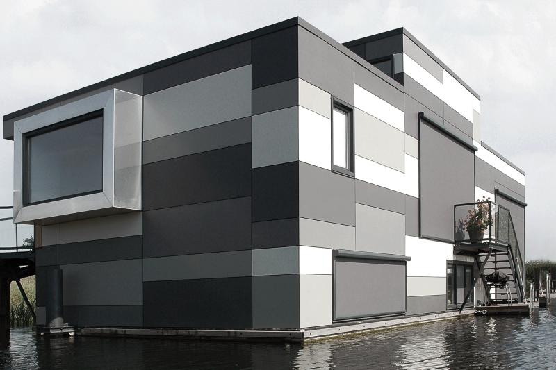 3_fibrocemento EQUITONE fachada ventilada casas flotantes