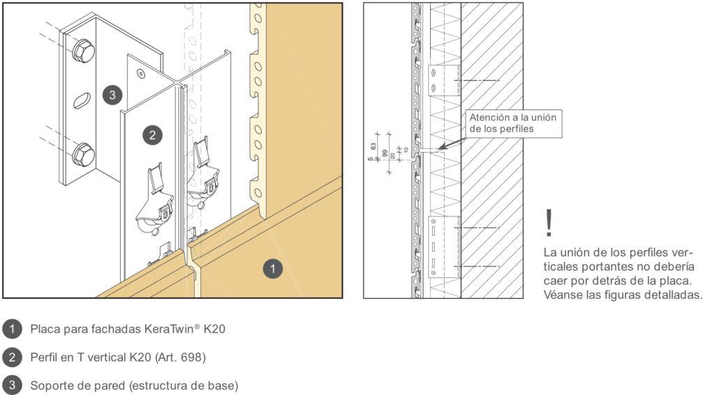 detalle-sistema de fijación para fachada k20