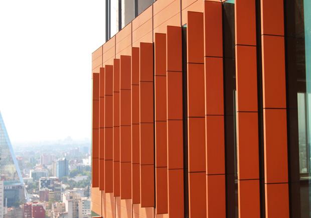 Materiales para fachada sistemas de fachadas - Recubrimiento para fachadas ...